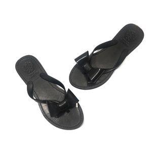 Vince Camuto Black Bow Sandals Women's Size 8.5